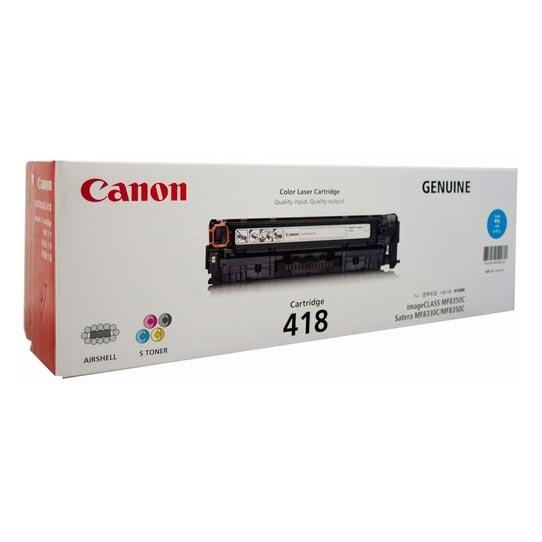 Canon CART418 Cyan Toner Cartridge
