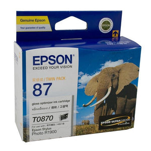 Epson T0870 Gloss Optimiser Ink Cartridge