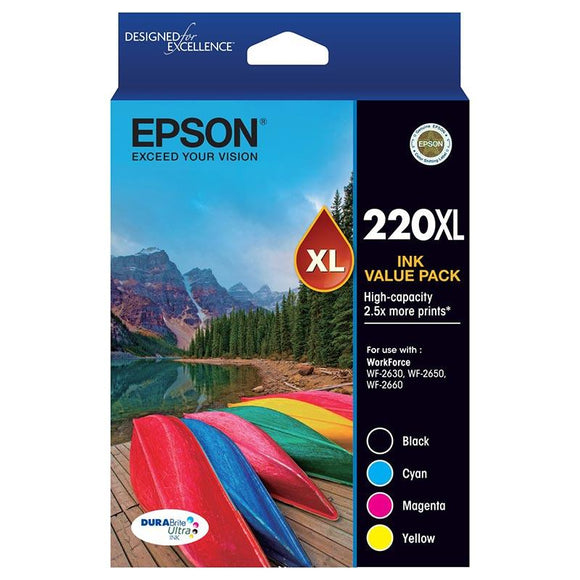 Epson 220XL Ink Value Pack C13T294692