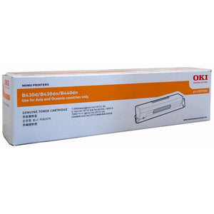 OKI B430 B440 Black Toner 43979203 43979203 at $173.20