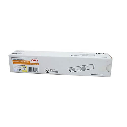 OKI C510DN Yellow Toner 44469725 44469725 at $218.85