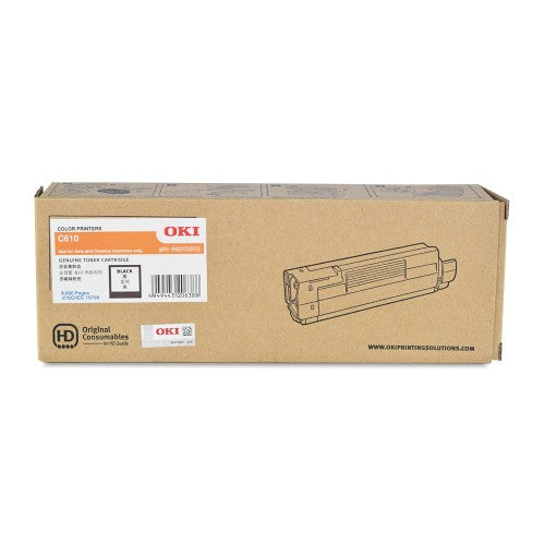 OKI C610 Black Toner 44315312 44315312 at $150.85
