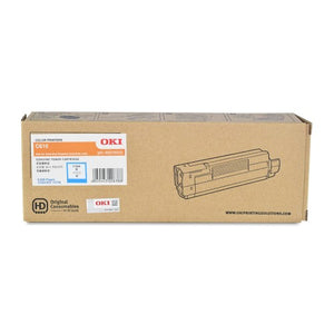 OKI C610 Cyan Toner 44315311 44315311 at $250.45
