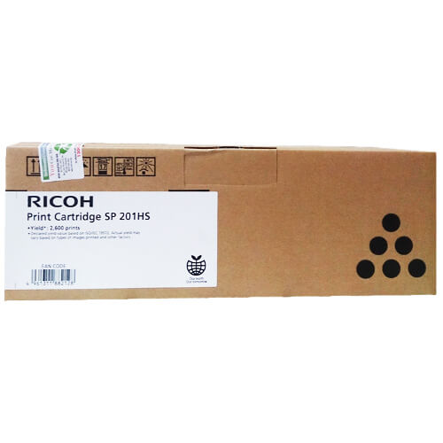 Ricoh SPC201 Black Toner 407256 SP213b at $132.48