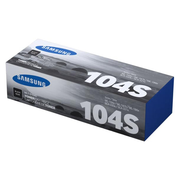 Samsung MLTD104S Black Toner MLTD104S at $97.69