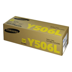 Samsung CLTY506L Yellow Toner CLTY506L at $186.42