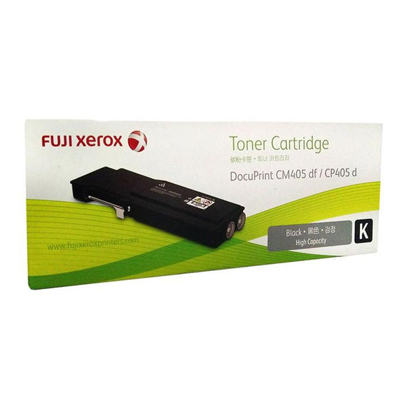 Fuji Xerox DocuPrint CP405D CM405DF Black Toner CT202033