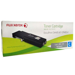 Fuji Xerox DocuPrint CP405D CM405DF Cyan Toner CT202034 CT202034 at $290.00