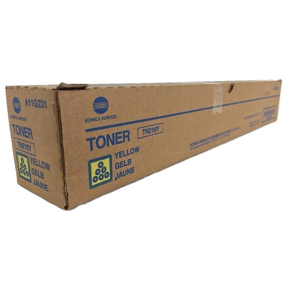 Konica Minolta TN216Y Yellow Toner TN216Y at $306.14