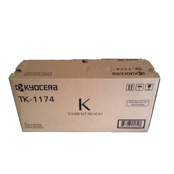 Kyocera TK1174 Black Toner tk1174 at $135.61