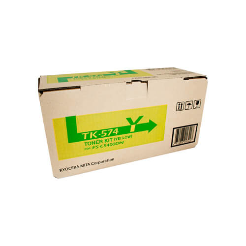 Kyocera TK574 Yellow Toner TK-574Y at $324.72