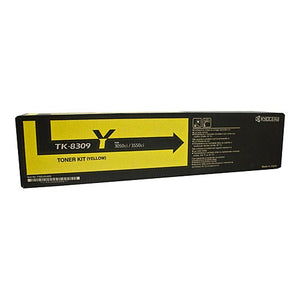 Kyocera TK8309Y Yellow Toner TK8309Y at $129.49
