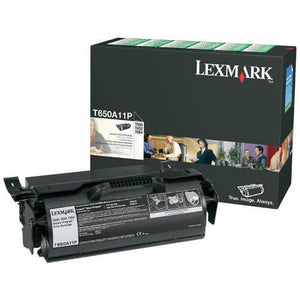 Lexmark T650A11P Black Toner T650A11p at $221.63