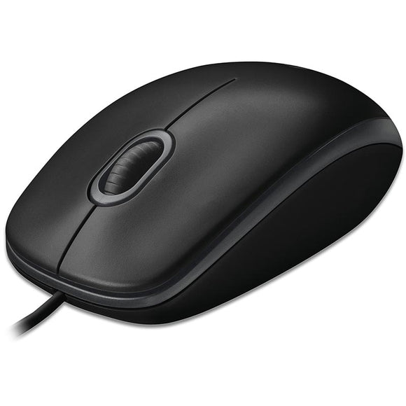 Logitech B100 Low Profile Mouse b100 at $13.38