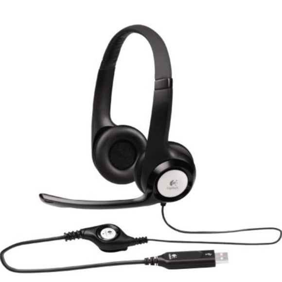 Logitech H390 headset H390 at $98.15