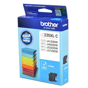 Brother LC-235XL Cyan Ink Cartridge LC-235XLC LC235XLC at $38.14