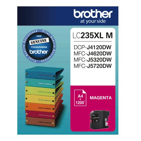Brother LC-235XL Magenta Ink Cartridge LC-235XLM