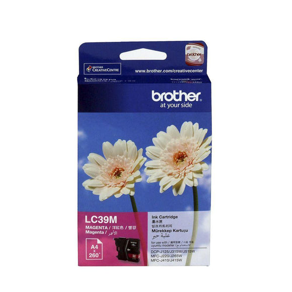 Brother LC-39 Magenta Ink Cartridge LC-39M LC39M at $23.23