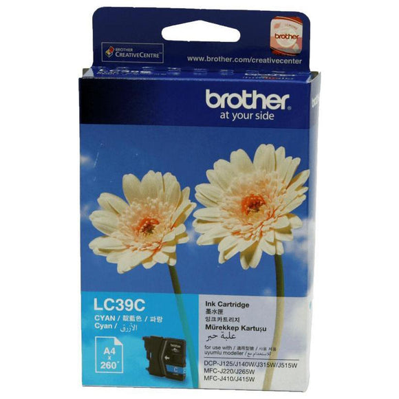 Brother LC-39 Cyan Ink Cartridge LC-39C LC39C at $23.23