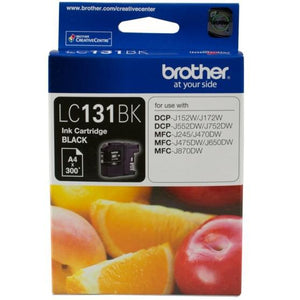 Brother LC-131 Black Ink Cartridge LC-131BK LC-131BK at $43.18