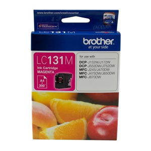 Brother LC-131 Magenta Ink Cartridge LC-131M LC131M at $22.79