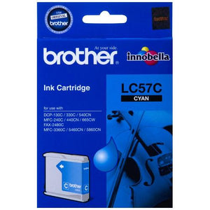 Brother LC-57 Cyan Ink Cartridge LC-57C