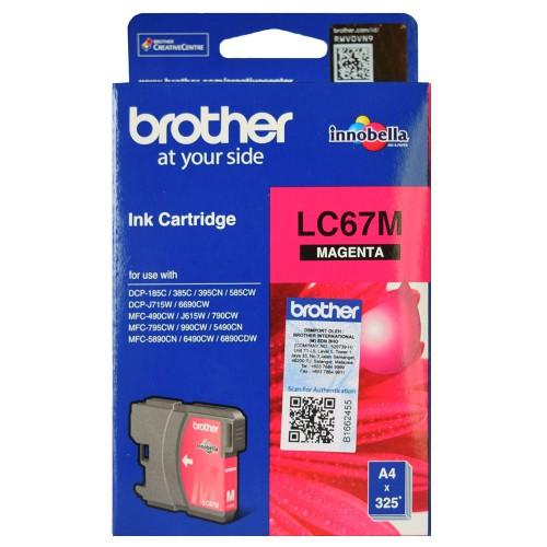 Brother LC-67 Magenta Ink Cartridge LC-67M LC67M at $32.39
