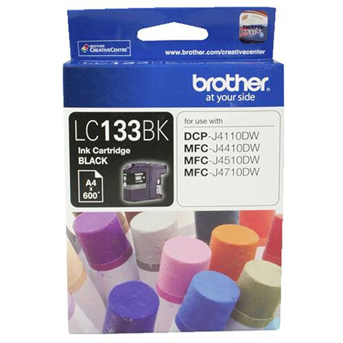 Brother LC-133 Black Ink Cartridge LC-133BK