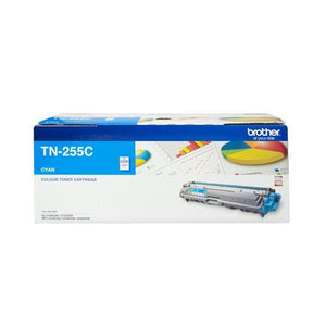 Brother TN-255 Cyan Toner Cartridge TN-255C TN255C Brother, Toner Cartridges