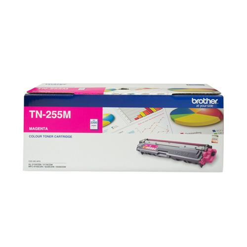 Brother TN-255 Magenta Toner Cartridge TN-255M