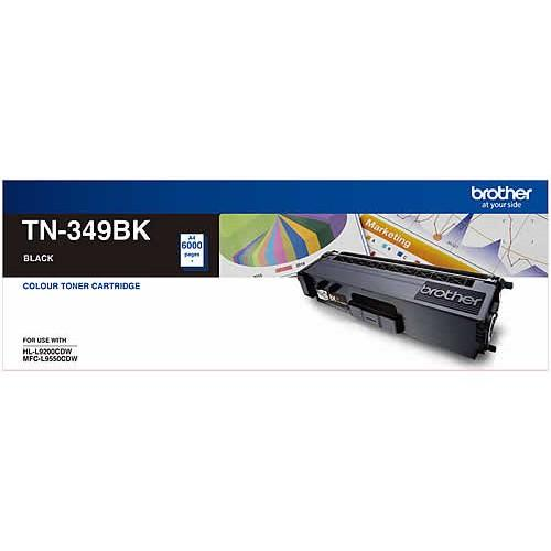 Brother TN-349 Black Toner Cartridge TN-349BK
