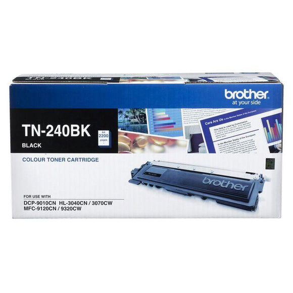 Brother TN-240 Black Toner Cartridge TN-240BK