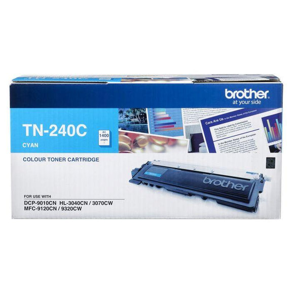 Brother TN-240 Cyan Toner Cartridge TN-240C