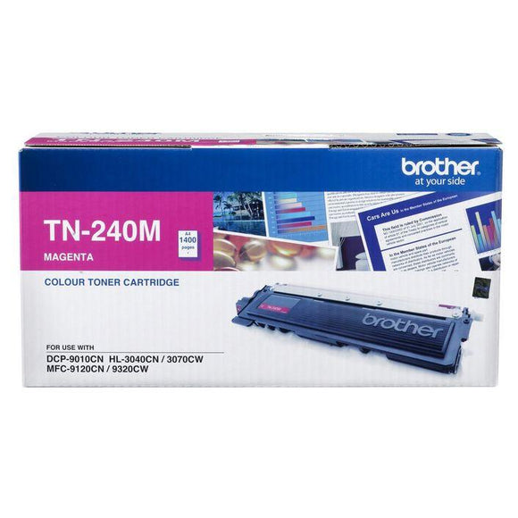 Brother TN-240 Magenta Toner Cartridge TN-240M