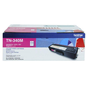 Brother TN-340 Magenta Toner Cartridge TN-340M
