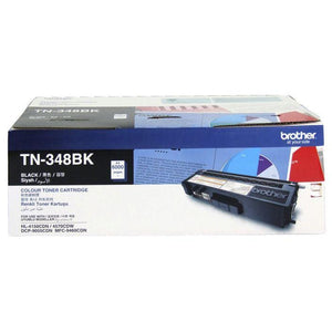 Brother TN-348 Black Toner Cartridge TN-348BK TN348BK at $223.74