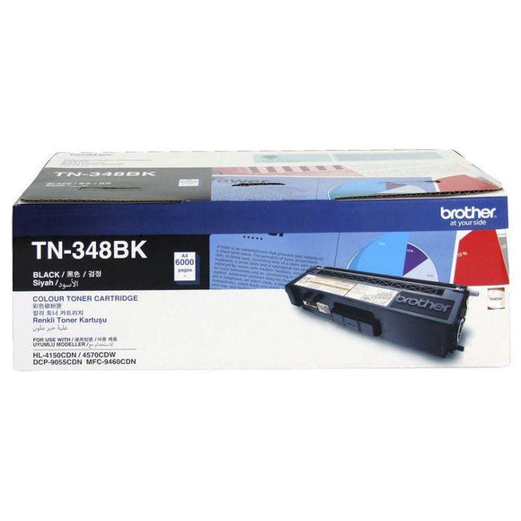 Brother TN-348 Black Toner Cartridge TN-348BK