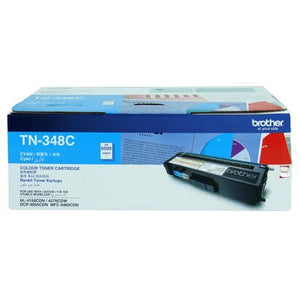 Brother TN-348 Cyan Toner Cartridge TN-348C TN348C at $367.40