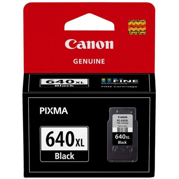 Canon PG640XL Black Ink Cartridge PG640XL at $36.75
