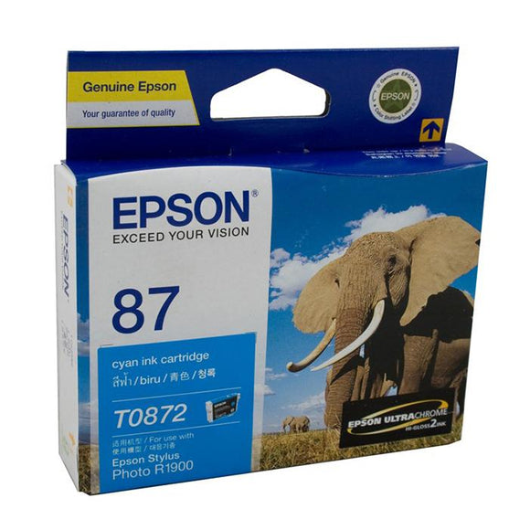 Epson T0872 Cyan Ink Cartridge