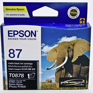 Epson T0878 Matte Black Ink Cartridge
