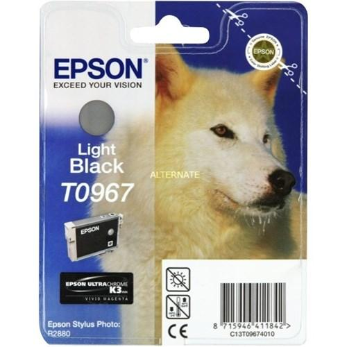 Epson T0967 Light Black Ink Cartridge