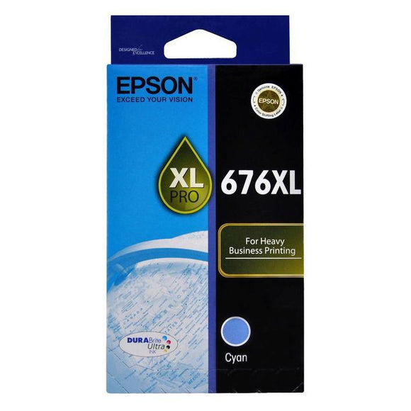 Epson 676XL Cyan Ink Cartridge