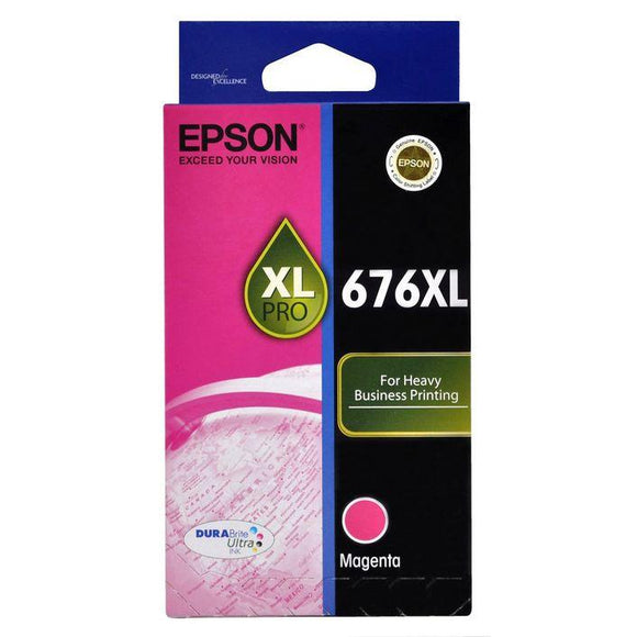 Epson 676XL Magenta Ink Cartridge