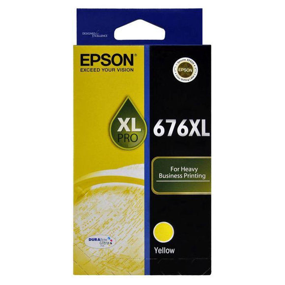 Epson 676XL Yellow Ink Cartridge