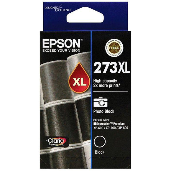 Epson 273XL Photo Black Ink Cartridge