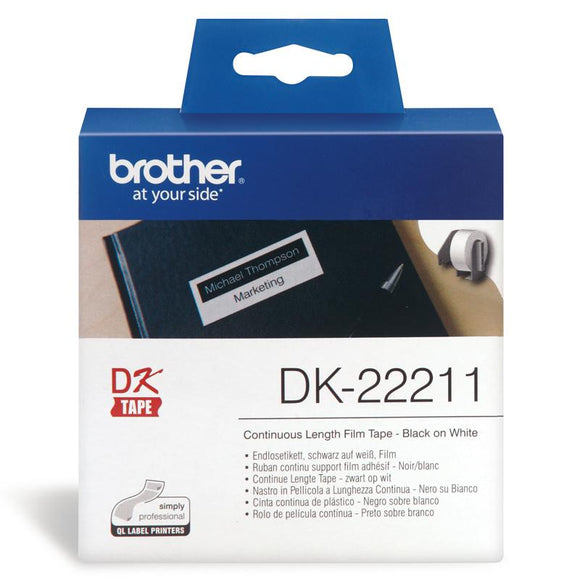 Brother DK-22211 White Continuous Roll DK22211 at $55.14