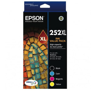 Epson 252XL Ink Value Pack C13T253692