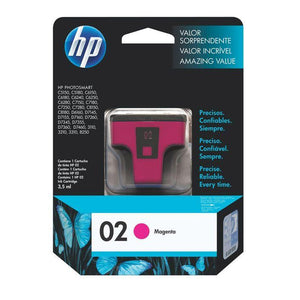 HP 02 Magenta Ink Cartridge C8772WA