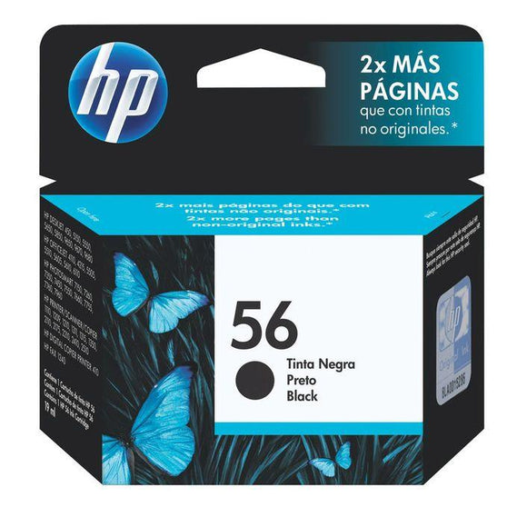 HP 56 Black Ink Cartridge C6656AA